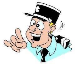 Gifs police - Gendarme dessin ...